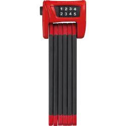Abus 6100 Bordo Combo foldelås, rød