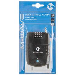 M-Wave Lock 'N 'Roll hjelmlås med alarm